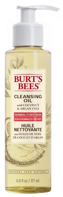 Huile nettoyante pour le visage avec huiles de noix de coco et d'argan