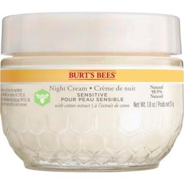 Crème de nuit pour peaux sensibles