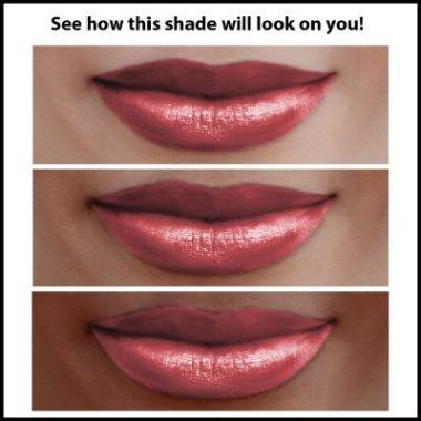 Rouge à lèvres nacré Blush Ripple