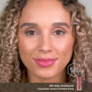 Glossy Liquid Lipstick Flushed Petal