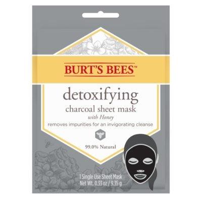 Detoxifying Charcoal Sheet Mask, Single Use 1 Count