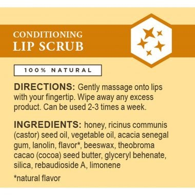 Conditioning Lip Scrub