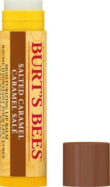 100% Natural Origin Moisturizing Lip Balm, Salted Caramel – 1 Tube