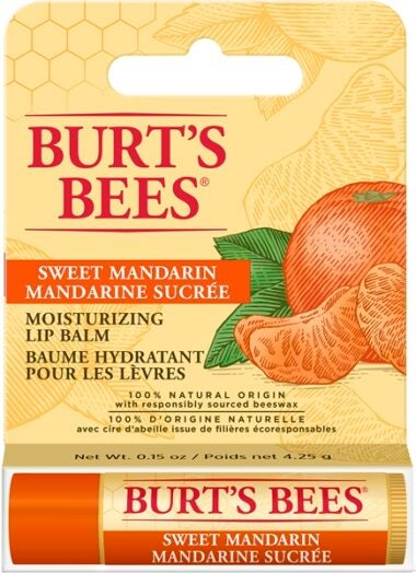 100% Natural Origin Moisturizing Lip Balm, Sweet Mandarin