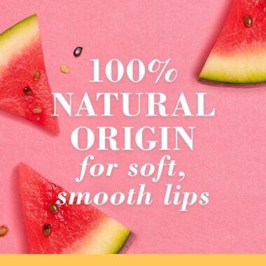 100% Natural Origin Squeezy Tinted Lip Balm Watermelon Rush
