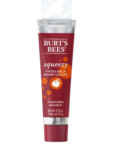 100% Natural Origin Squeezy Tinted Lip Balm Mandarin Granita