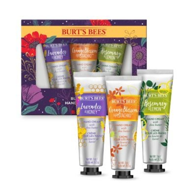 Burt's Bees Hand Cream Trio Holiday Gift Set